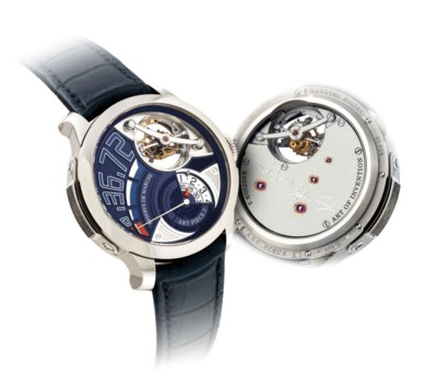 GREUBEL FORSEY. A VERY FINE AN